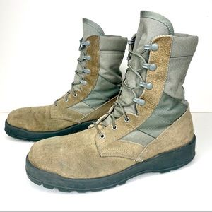 Belleville US Military Army Green Steel Toe Boots